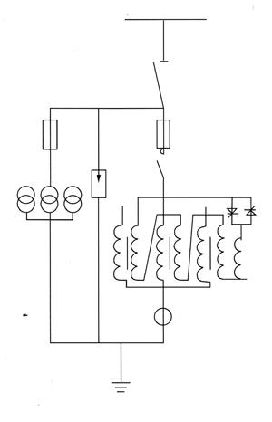 mhk型三相五柱式消弧线圈电网对地电容跟